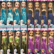 2016 New Baby Dolls Snow Queen Princess Anna Elsa Dolls Mini Elsa Doll Kids Toys carttoon dolls children gift Girls birthday