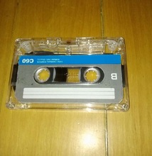 C-60 60 Minutes Normal Position Type 1 Recording Blank Cassette Tapes.(China)