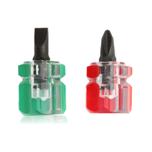 2pcs/set Mini Phillips Screwdriver Grooved Screwdrivers Ultra Cut Screwdriver Tool