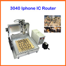 Iphone IC Router for iphone 4/5/6/6plus, CNC 3040 1500w CNC milling polishing engraving machine for iPhone Main Board IC repair