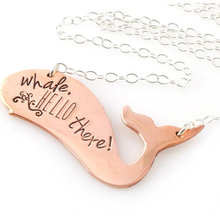 Alibaba Unique Products Indian Gold Jewelry Stainless Steel Smart Whale Necklace