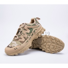 Waterproof Women Hiking Boots Walking Work Jobs Shoes Military Tactical Combat Breathable Army Flat Size 40-45