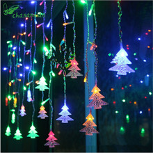 Christmas Tree LED Light 3.5 Meters 96 Lights Navidad New Year Christmas Decorations Christmas Ornaments for Home Natal Kerst.B(China)