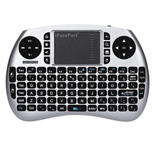 Original iPazzPort Backlight English 2.4GHz Wireless Keyboard Air Mouse Touchpad Handheld Backlit for Android TV BOX Mini PC(China)