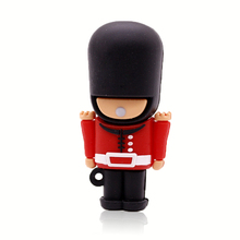 SUB 32 GB soldier/ savage Minions usb flash drive real capacity 32g memory stick pen drive 16g 8g 4g Robot 64 GB Commander