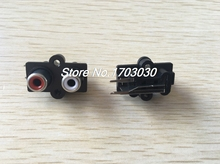 20pcs Stereo RCA Connector Female Chassis Sockets(China)