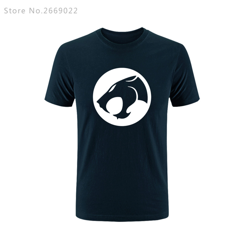 New Summer Thundercats Cartoon Printed Mens Men T Shirt Tshirt Fashion Short Sleeve O Neck Cotton T-shirt Tee Camisetas Hombre