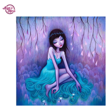ANGEL'S HAND Diamond Embroidery full canvas painting 5d diy diamond painting diamond pattern cartoon girl