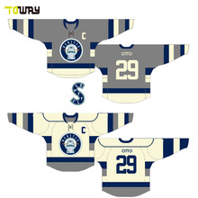 sublimation inline cheap team set hockey jersey(China)