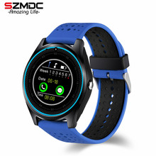 Buy Bluetooth Smart Watch V9 DZ09 Camera Smartwatch Pedometer Health Sport Clock Hours Men Women Smartwatch Android IOS for $21.99 in AliExpress store