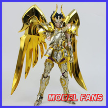 MODEL FANS IN-STOCK METAL CLUB metalclub saire MC soul of gold Capricorn Shura Saint Seiya metal armor Myth Cloth Action Figure