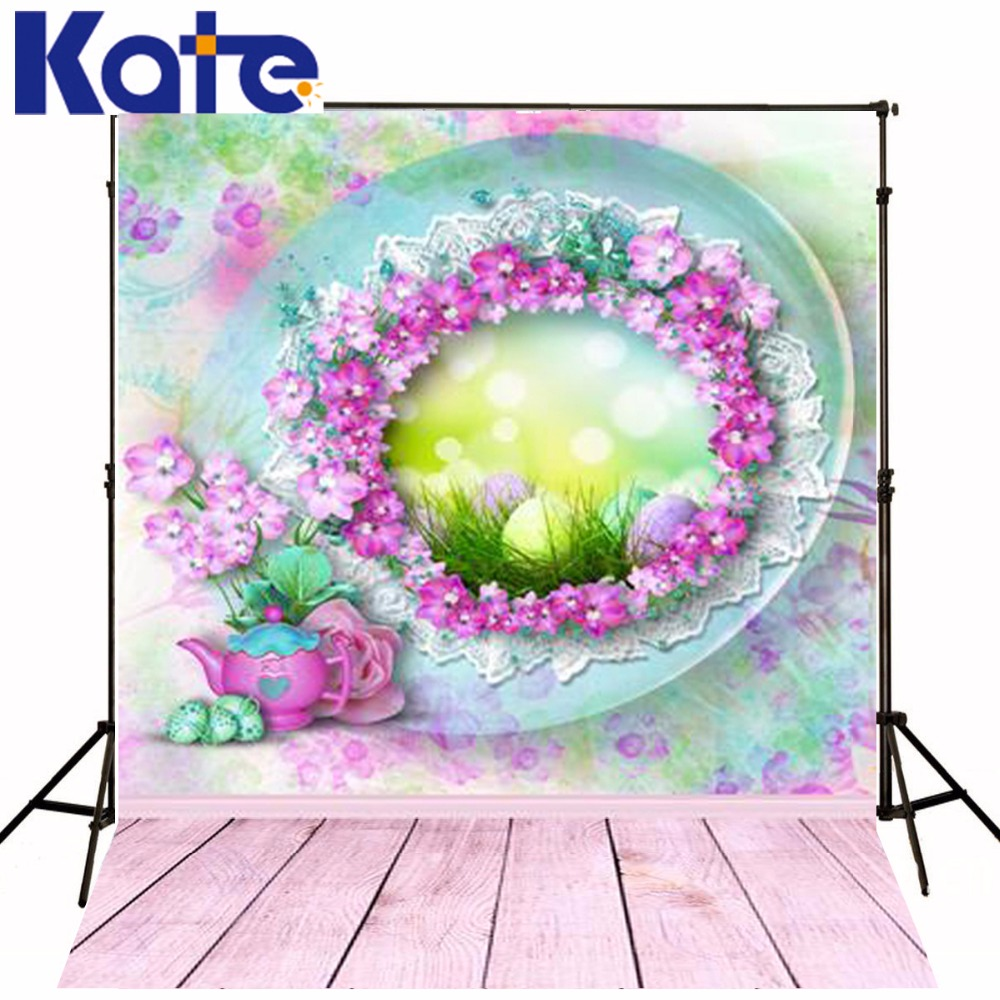5*6.5Ft Kate New Easter Backdrops Photo Vinyl Backdrop Pink Floor Photographic Studio Background For Easter Backdrop Girls<br><br>Aliexpress
