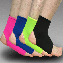 1PCS Sports Ankle Support Ankle Pads Elastic Brace Guard Foot Ankles Protector Wrap For Bicycle Football Neoprene Basketball(China)