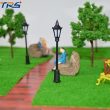 Teraysun 2017 100pcs scale model light with warm led for architecture scale model scenery making buildings materials(China)