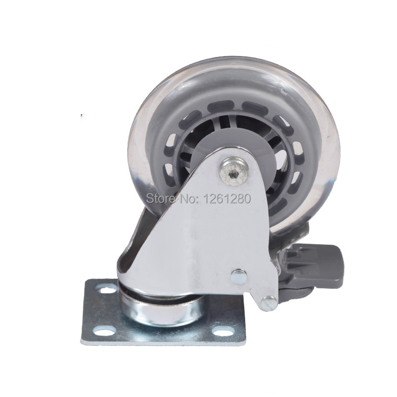 free shipping 75mm furniture caster Medical   chair universal nylon caster swivel bed Equipment wheel hardware trolley pulley<br>