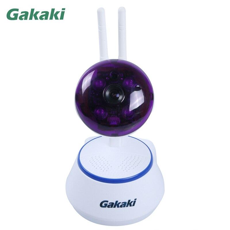 Gakaki HD 960P Wi-Fi Wireless IP Camera Home Security Surveillance P2P Dual Antenna Onvif Night Vision CCTV Camera Baby Monitor<br>