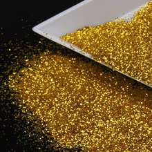 2016 New Arrival Gold Color Glitter Powder Shining 3D Nail Glitter Dust Women DIY Manicure Paillette Manicure Styling Tool WY314(China)