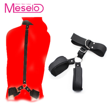 Buy Meselo Slave Adult Games Handcuffs Neck Collar Bdsm Bondage Restraints Ankle Hand Cuff Bdsm Game Sex Erotic Sex Toys Couples
