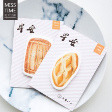 1 pcs MISS TIME Good morning memo pad paper stickys notes post it notepad kawaii stationery papeleria school supplies