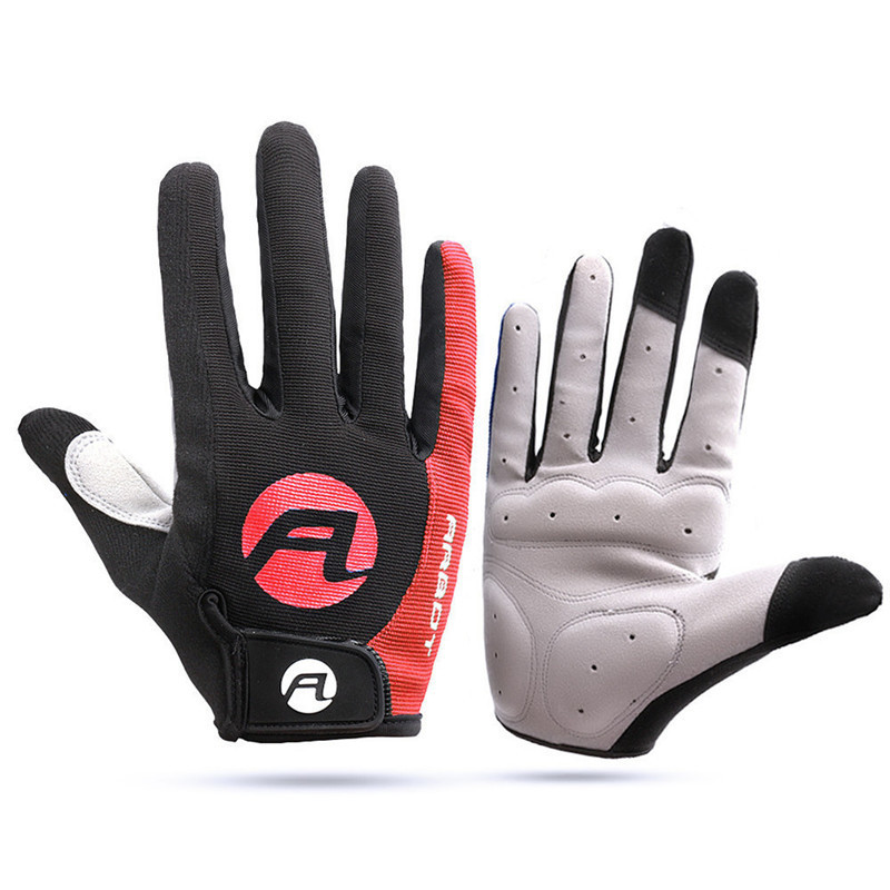 Windproof Cycling Gloves Touch Screen Riding MTB Bicycle Gloves Warm Motorcycle Winter Autumn Men Anti-slip Bike Gloves