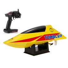 Brushed Motor Rc Boat Volantex TUMBLER V796-1 2.4GHz 25km/h High Speed Auto-roll-back Pool RTR Remote Control Racing Boat Ship(China)