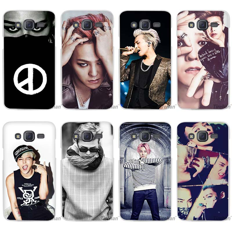 Bigbang K-pop G-Dragon T.O.P Taeyang Daesung Seungri Clear Case Cover Coque Shell for Samsung Galaxy J1 J2 J3 J5 J7 2016 2017 Em(China)