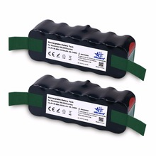 2pcs 14.4V 4.6Ah Ni-MH Battery for iRobot Roomba 500 Series 510 530 531 532 533 535 536 540 545 550 552 560 562 570 580 625 700