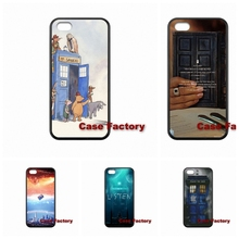 Tardis Doctor Who Box For HTC One M8 M9 Mini M4 Desire 816 iPhone 4 4S 5 5S 5C 6 6S Plus SE iPod Touch 4 5 6 Bags Cases