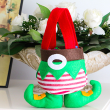 Christmas Candy Bag Children Gift Fairy Candy Container Gift Sugar Cute Cartoon Christmas Decoration Festival Supplies CKG15