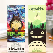 32 pcs/pack Kawaii My Neighbor Totoro Bookmark Cartoon Paper Book Marks Gifts Stationery Office Accessories School Supplies(China)
