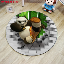 2017 High Quality US Cartoon round Bathroom Rugs Five Star Living room Carpets Baymax Doormats Washroom 3d mats For Bedroom