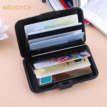 2017 Case Box Waterproof Gold Silver Aluminium Metal Case Box Business Name Card ID Credit Card Holder Protective Cover(China)