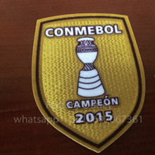2015 America Champion Chile Copa soccer patch Chile national team Champion patch badge free ship