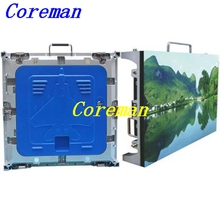 Coreman Customized indoor p5 led display with rental cabinet for led commercial advertising rental led display clear HD p2 p3 p4