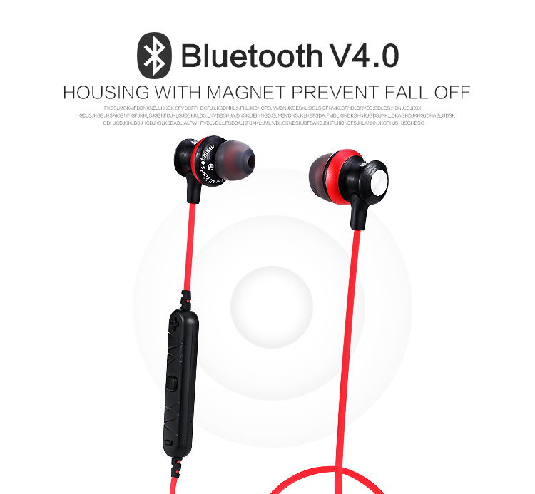A980bl Bluetooth Earphones Headset Wireless Headphones With Microphone For iPhone Xiaomi fone de ouvido Auriculares
