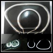 white halo rings headlight car ccfl angel eyes for honda civic 2006 ccfl angel eyes kit