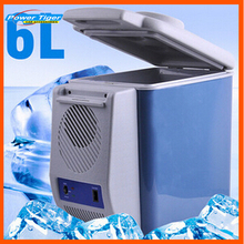 6L Car Styling Portable 12V Car Refrigerator for Cooling and Heating Mini Fridge Household dual-use Heating Cooler Box Freezer