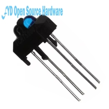 10pcs TCRT5000 reflective photoelectric switch photoelectric sensor for tracing car(China)