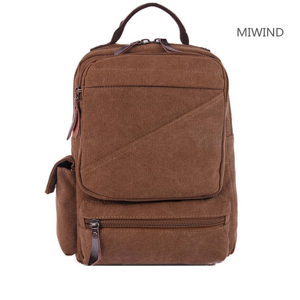 2017121101 80USD and 95USD  bag backpack dual purpose package men and women universal student package  black <br>
