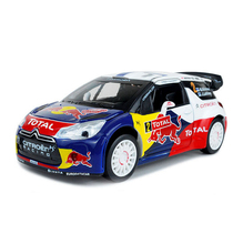 1:26 scale diecast Monte Carlo Masters Champion car Red Bull Racing team Citroen C4 DS3 WRC metal model with light & sound toys