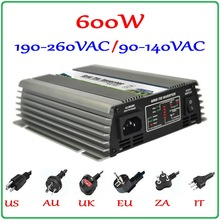 600W 22-60V Grid Tie Micro Inverter For 720W 30V 60cells or 36V 72cells PV Panels, Pure Sine Wave Output Power Inverter 600W(China)