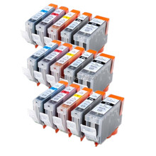 15X New PGI-5 CLI-8 PGI5 CLI-8 Compatible ink Cartridge For Canon PIXMA iP4200 iP4300 iP4500 iP5200 iP5300 inkjet printer(China)