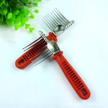 Pet Puppy Dog Cat Hair Professional Grooming Brush Comb Dematting Tool Best(China)