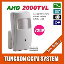NEW Product 1.0 MP Video Surveillance AHD 2000TVL Pinhole 3.7mm Lens 1280*720P Security CCTV Camera Free Shipping