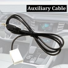 Auto USB 3.5mm AUX IN Adapter Radio MP3 Player Cable For Kabel/VW/RCD510 Series Car Modification AUX CableFor iPhone/iPod