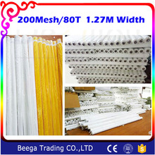 DPP 200 Mesh Count(80T) Fabric White Color Mesh(China)