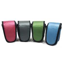 Blue Pink Green Nylon Handbag for Micro Cameras Protective Case Pouch with Hand Strap for Nikon Sony Canon Camera Bag