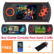 3.0 Inch 16Bit Retro Game Handheld Player for Sega Game Console Built-in 1100 no-repeat Games  Video Game Console MP3 MP4 video