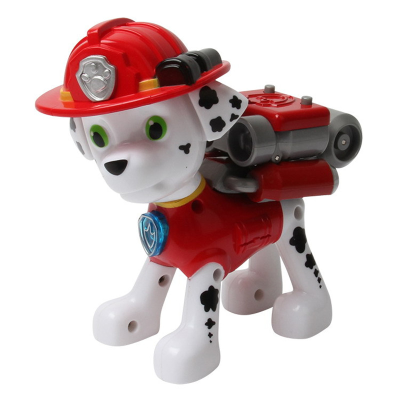 Puppy Patrol Canine Patrol Dog Toys Russian Anime Doll Action Figures Can launch weapons with music Patrulla Canina Juguetes Gif<br><br>Aliexpress
