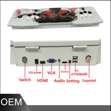 The Family Professional classic design  arcade video game consoles with Pandora's Box 4S 815 in 1 multi game board ,xbox console